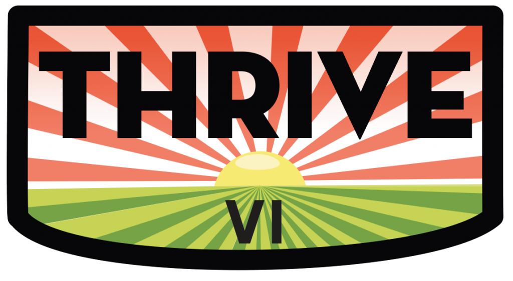 The THRIVE logo