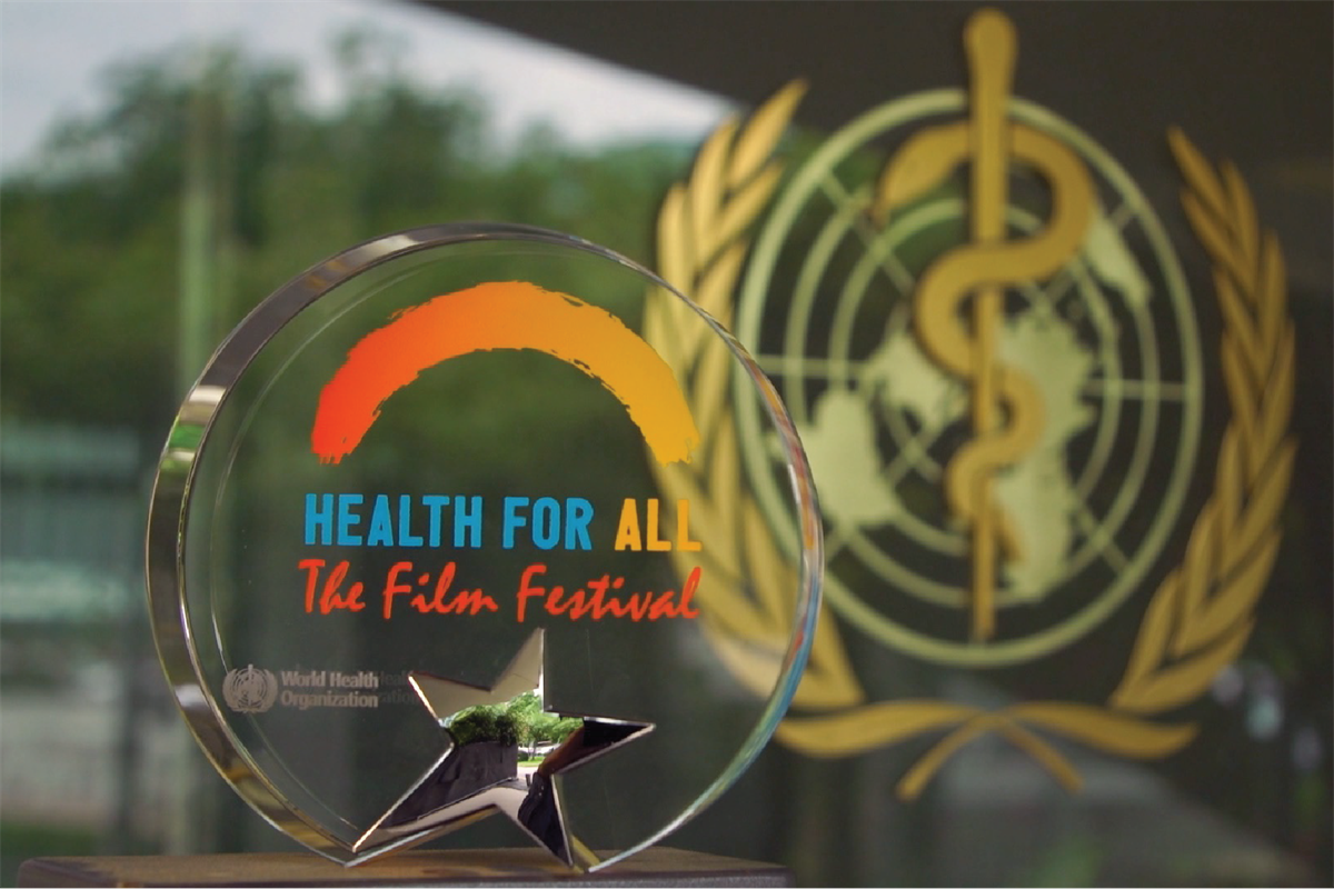 WHO Health for All Festival logo