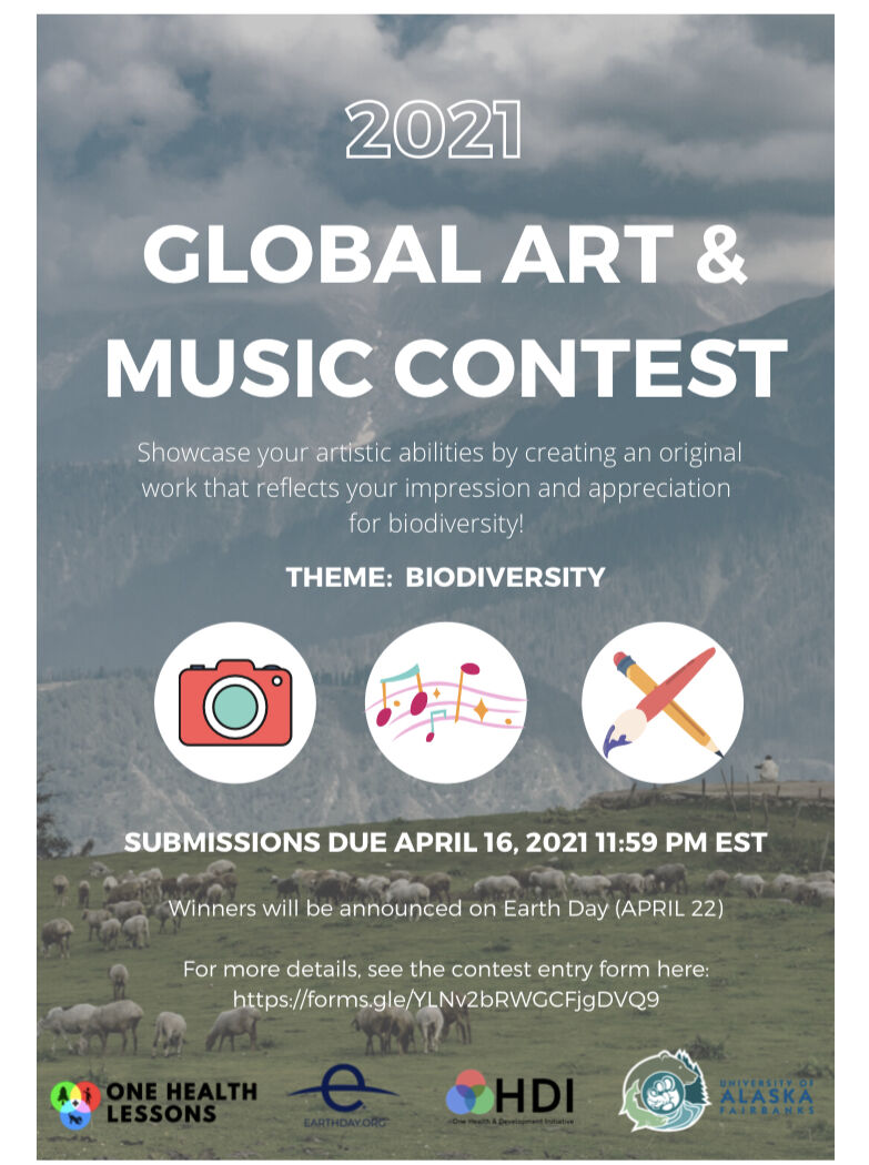 Art and Music Contest logo