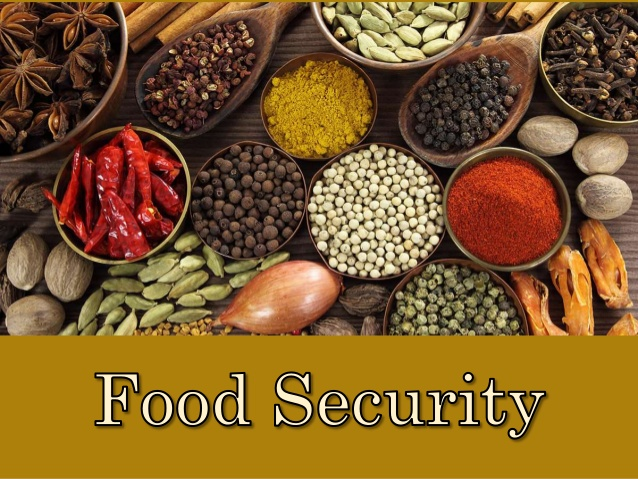 Food products - food secrity