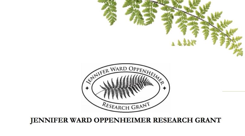 Jennifer-Ward-Oppenheimer-Research-Grant-2019- logo